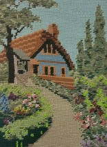 Cottage Needlepoint Sylvanie Floral Tramme Madeira MultiColor London Eng... - $28.95