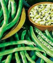 Pea Seed, California Black Eye Peas, Heirloom, Organic, Non Gmo, 20+ Seeds, Peas - $3.25