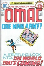 OMAC One Man Army Corps Comic Book #1 DC Comics 1974 FINE+ - $21.20