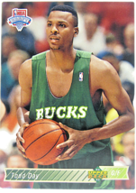 1992 Upper Deck NBA Draft Milwaukee Bucks #20 Todd Day   - $1.53