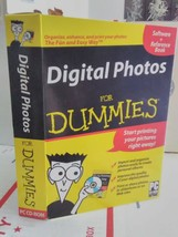 Digital Photos For Dummies ~ CD-ROM & 128 Page Reference Guide - $9.89