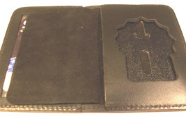 Nassau County CT-06 Police Shield//ID Medium Money Book Wallet NY