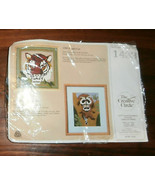 "Masked Rascals Creative Circle Needlepoint Kit #1433 Unopened 8"" x 10"" R... - $14.50"