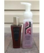 Bath Body Works Midnight Pomegranate Warming Oil to Cream Wash Foam Hand... - $39.99