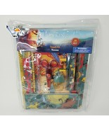 VINTAGE DISNEY STORE THE LION KING SCHOOL SUPPLY KIT STATIONARY PENCIL R... - $45.82