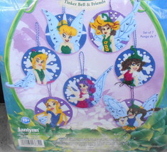 Janlynn Ornament Holiday Hangers Tinker Bell & Friends 2007 Needlework Kit* - $16.00