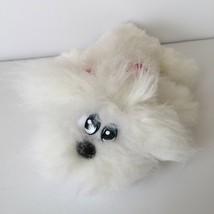 "Tonka Newborn Pound Furries 9"" White Furry Plush Pound Puppy Stuffed Ani... - $12.38"