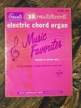 Bradford Electric Chord Organ Music Favorites Sanford Hertz USA Made Boo... - $14.80