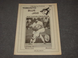 Toronto Blue Jays 1980 Spring Training Baseball Souvenir Program - $12.00