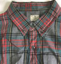 J.Crew shirt front buttons cotton Men`s Sz XL-(17-17 1/2) Multi color Worn Once - $16.82
