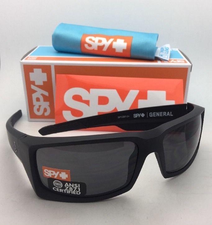 1d7566e8d07f6 New Spy Optic Sunglasses General Matte Black and 13 similar items. S l1600