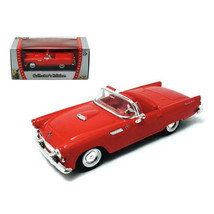 1955 Ford Thunderbird Red 1/43 Diecast Car by Road Signature 94228r - $18.13