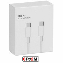 USBC to USBC Cable 6ft Fast Charge Type C Charging  data Cable for Samsung LG - $9.50+