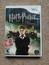 Harry Potter and the Order of the Phoenix (Nintendo Wii, 2007) manual & case - $11.88