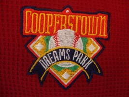 Cooperstown Dreams Park Baseball red t-shirt size XL - $17.81