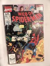 #6 Web of Spider-Man Annual 1990  Marvel Comics C283 - $3.33