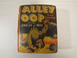 Alley Oop and Dinny in the Jungles of Moo, Big Little Book 1936 / 1938 - $12.86