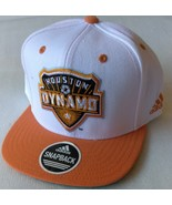 Adidas MLS Houston Dynamo Soccer Hat Cap Snap Back Flat Brim One Size - $20.00