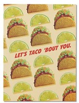 American Greetings Funny Taco Thank You Card With Foil - 5856808 - $15.53