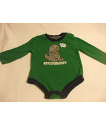 George Green Baby Romper Long Sleeves 100% Cotton 6-12 months - $11.90