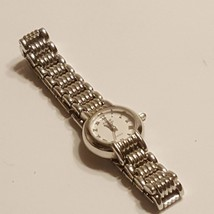 ANNE KLEIN 753S LADIES QUARTZ WATCH BASE METAL BEZEL STAINLESS STEEL - $20.00