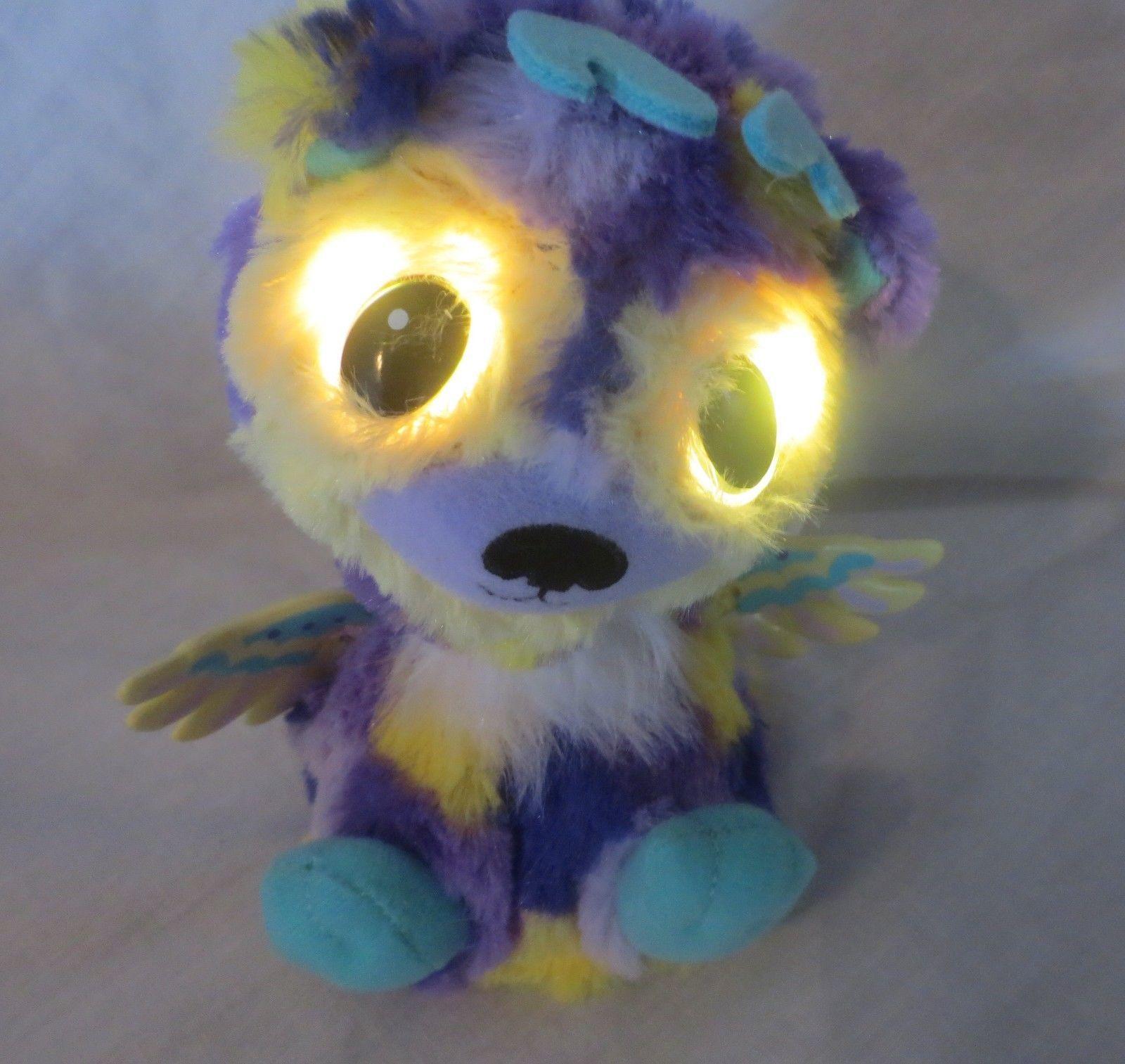 Hatchimal Electronic Angel Deer Purple Yellow & Teal