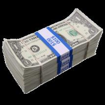 $300 - $1 Full Print Aged Fake Bills Bundle Poker Game Prank Music Video  - $24.99