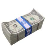 $300 - $1 Full Print Aged Fake Bills Bundle Poker Game Prank Music Video  - $29.99