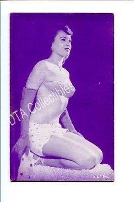 Primary image for SPICY PIN-UP GIRL-ARCADE CARD-1930-WOMAN IN GLOVES G