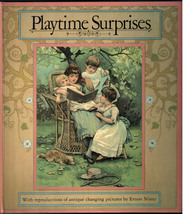 Playtime Surprises Changing Pictures Book by Ernest Nister 1985 Hardcover - $11.99