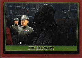 1999 Topps Star Wars Chrome Archives #72 The Deciders > Darth Vader - $1.49