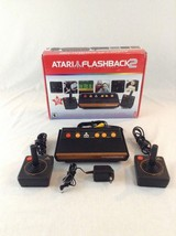 2005 Tested & Working Atari Flashback 2 40 Built In Preloaded Games Game... - $32.71