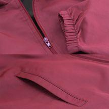 Red Label Men's Lightweight Nylon Hooded Water Resistant Zip Up Rain Jacket image 7