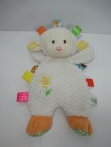 Taggies Sherbet Lamb plush security blanket baby beanbag  toy lovey - $14.84