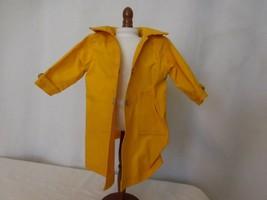 Pleasant Company American Girl Molly Doll Yellow Raincoat Jacket  - $23.80