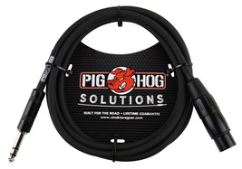 Pig Hog PX-TMXF6 6' TRS Male to XLR Female Balanced Cable - $9.95
