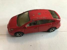 2010 Matchbox  Metro Rides Series '08 Toyota Prius Red Fast Shipping - $3.47