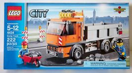 LEGO City Dump Truck - 4434 Building Set [New] - $59.99