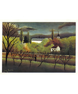Rousseau 1942 GRAVURE PRINT w/COA Henri Julien ROUSSEAU £ Superb Find ! ... - $179.00
