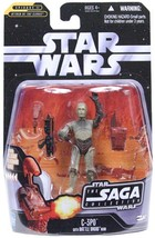 Star Wars C-3PO Battle Droid Head On Saga Collection 3.75 Inch Figure - $9.95