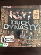 NEW Duck Dynasty Redneck Wisdom Board Game Over 500 Quotes and Questions USA - $2.63