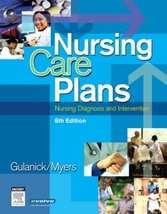 Nursing Care Plans: Nursing Diagnosis and Intervention Meg Gulanick and ... - $13.99