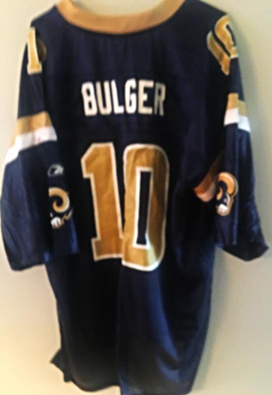 44d87372 Rams QB Marc Bulger #10 NFL Jersey. Size and 50 similar items