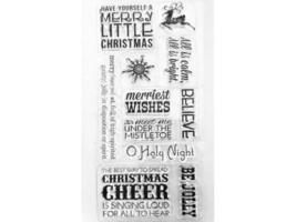 Momenta Christmas Sentiments Stamp Set #20689
