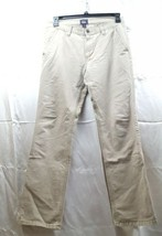 """GAP """"Lived In Slim"""" Flat Front Khaki Casual Pants Size 32 32  - $23.38"""