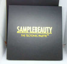 SAMPLEBEAUTY THE TECTONIC  Eye Shadow Palette NIB - $15.95