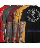 Sullen Ever SCM2814 Short Sleeve Tattoo Skull Graphic T-shirt For Men 5 ... - $32.09+