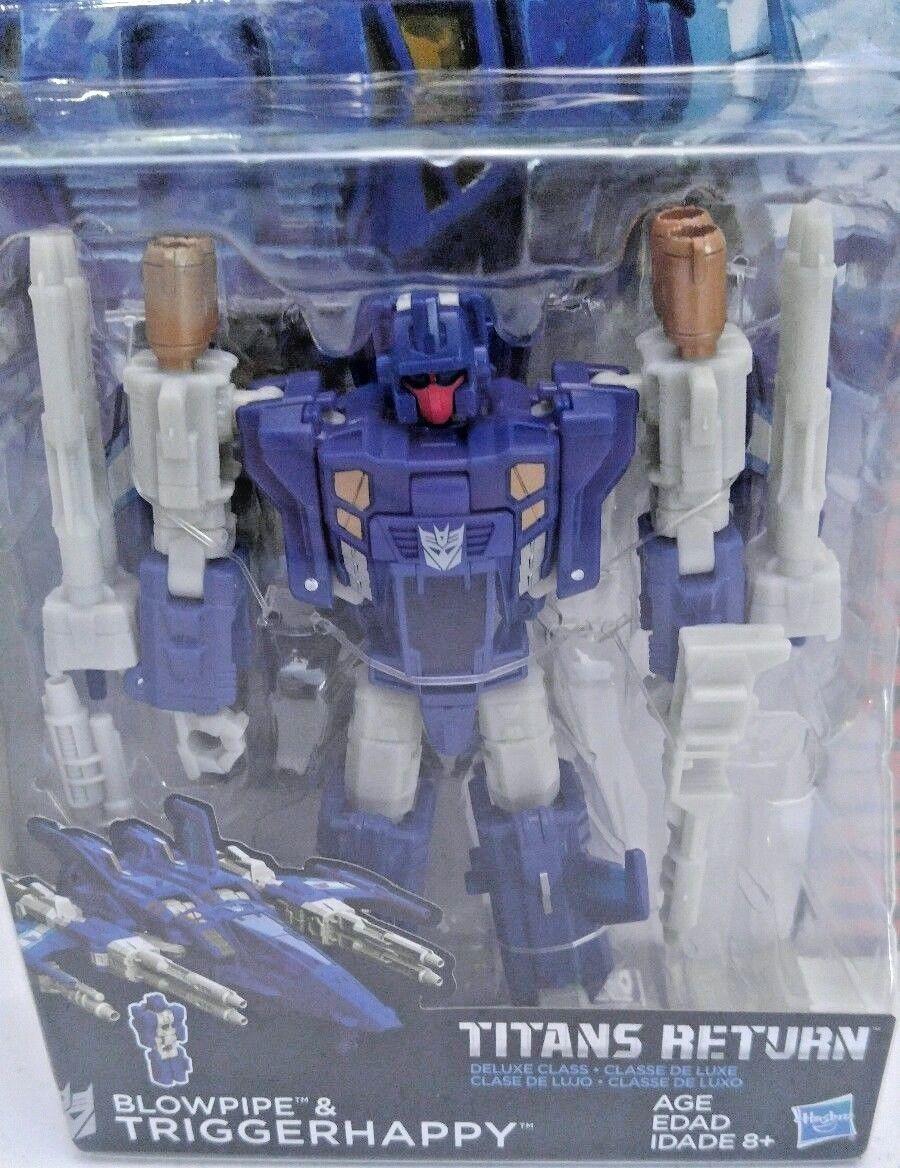 Transformers Generations Titans Return Deluxe Blowpipe & Triggerhappy