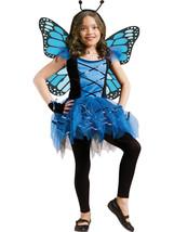 Forum Novelties Kids Fluttery Blue Butterfly Costume, Blue, Medium - $52.59