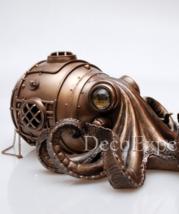 Octopus Steampunk - Secret Trinket Box *** Free Air Shipping Everywhere *** - $119.00